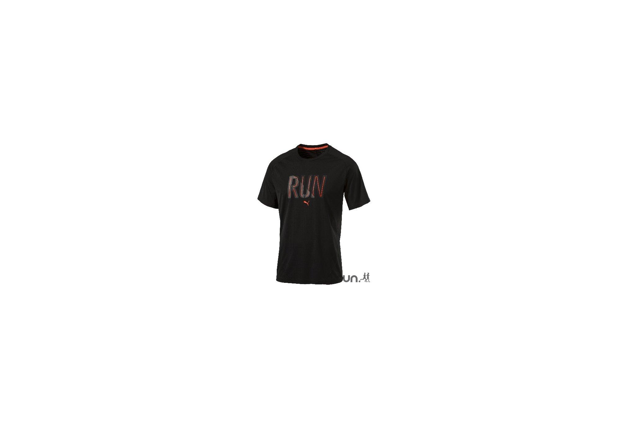 Puma Tee-shirt Running M vêtement running homme