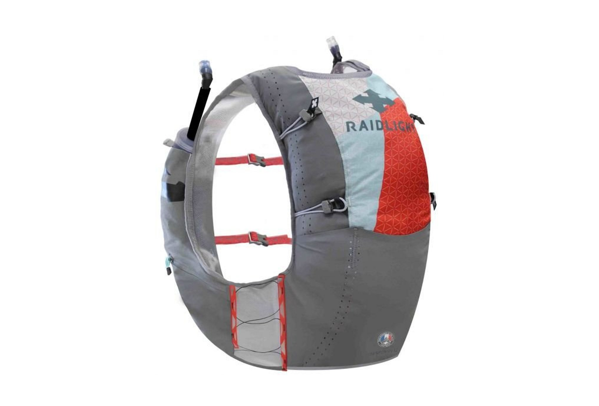 Raidlight Responsiv Vest 12L + 2 EazyFlask 600 mL M Sac hydratation / Gourde