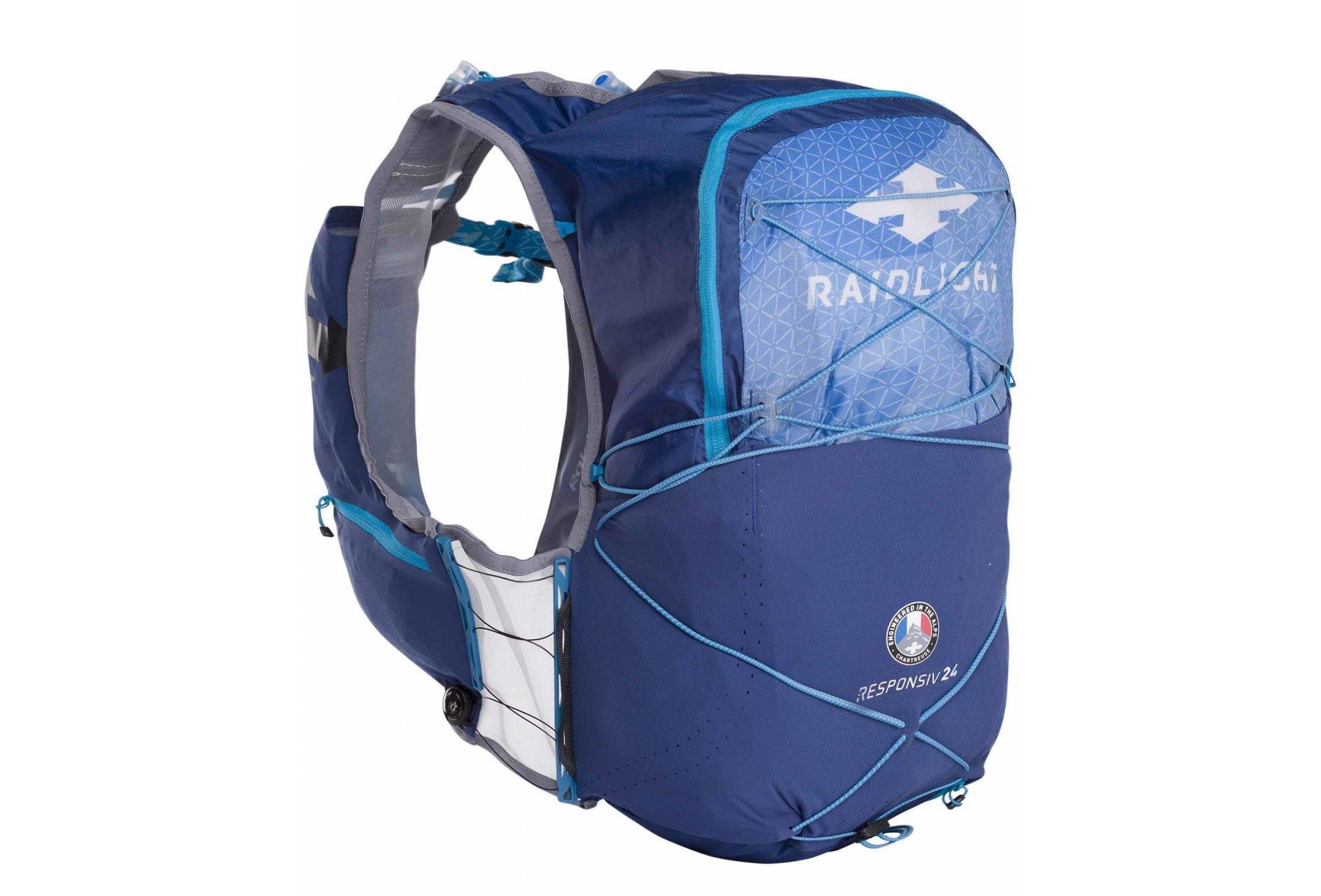 Raidlight Responsiv Vest 24L + 2 EazyFlask 600 mL M Sac hydratation / Gourde
