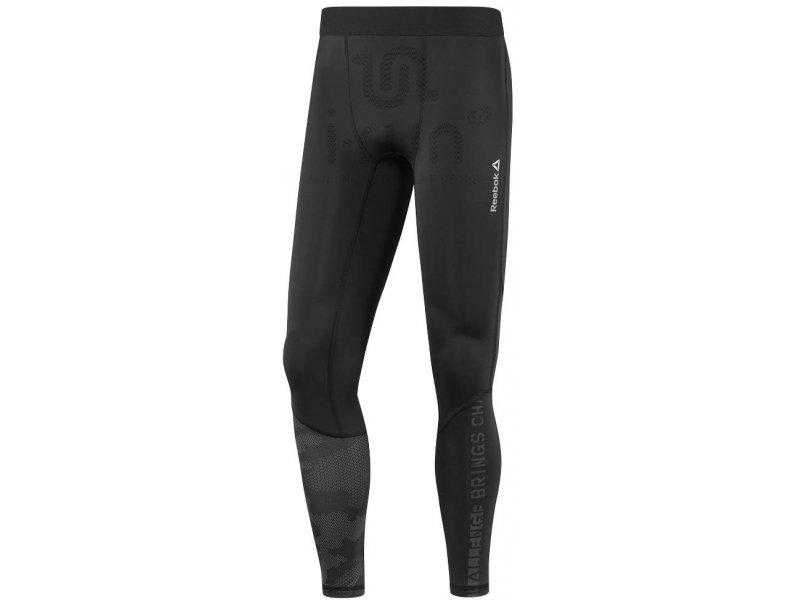 Reebok Collant One Compression M Vêtements homme Collants Pantalons