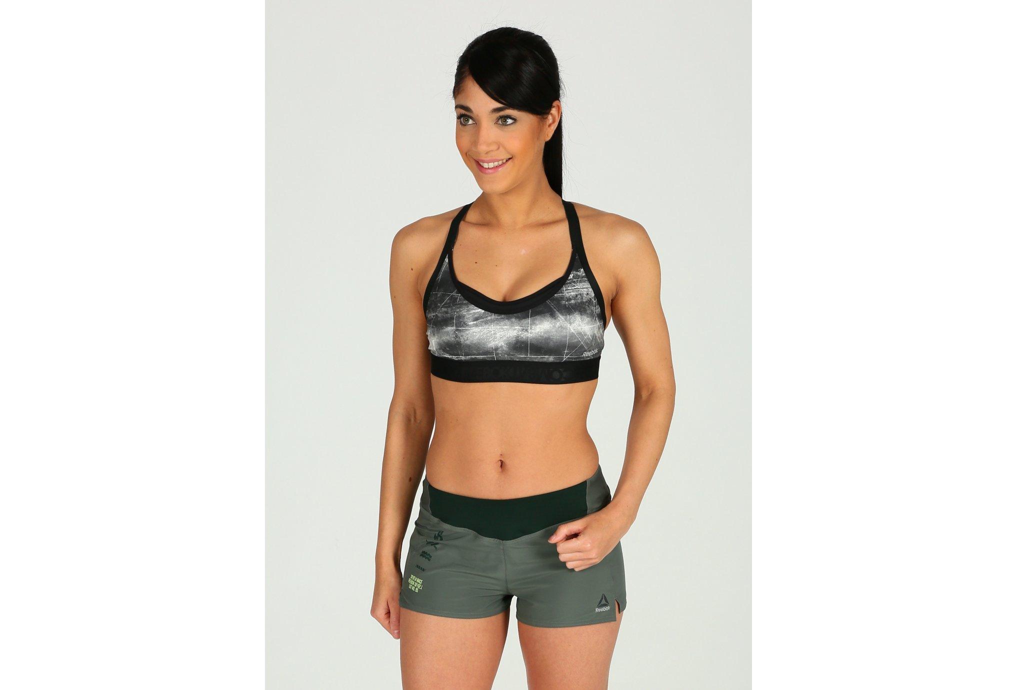 Reebok Combat Fight Sports W Diététique Vêtements femme