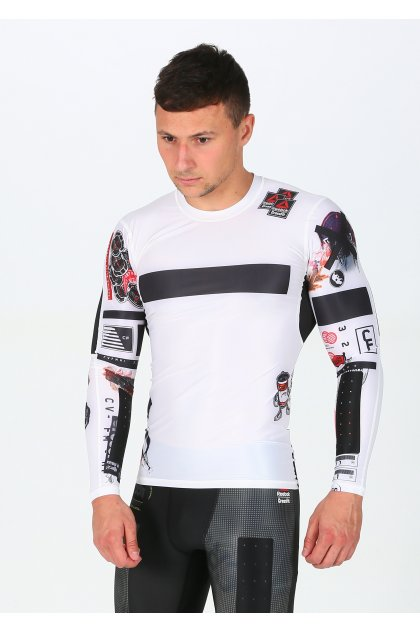 Reebok Camiseta manga larga Compression CrossFit