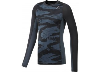 Reebok Camiseta manga larga Compression