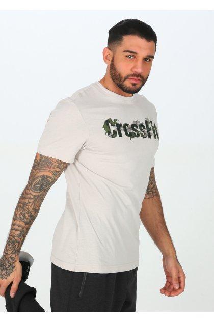 Reebok camiseta manga corta Crossfit Camo