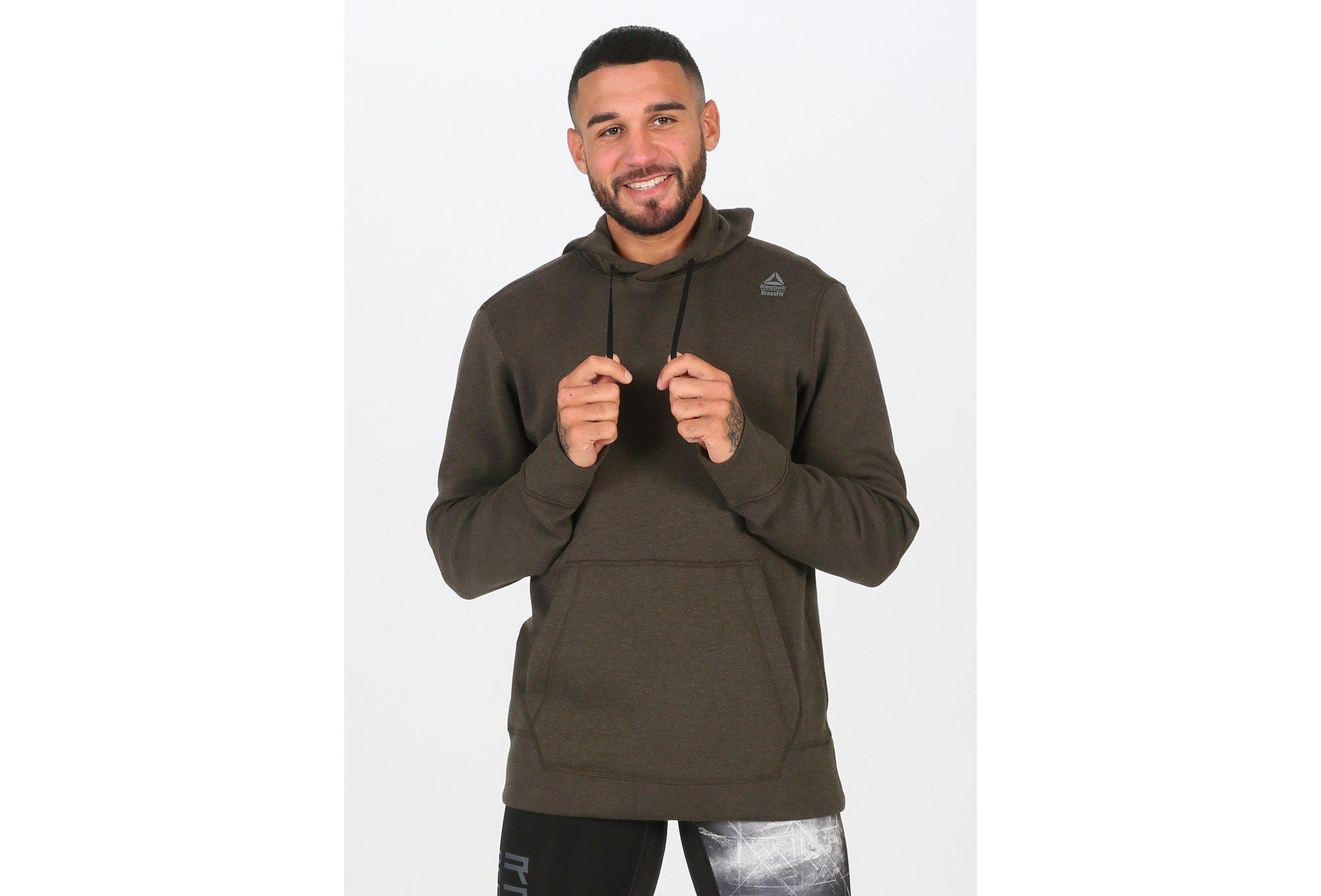 Reebok CrossFit Double Knit Hoodie M Diététique Vêtements homme