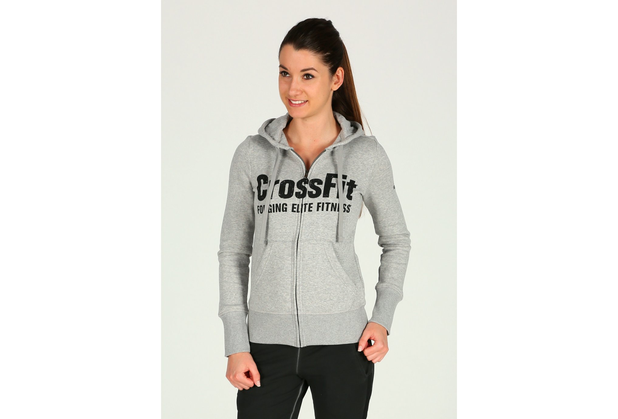 Reebok CrossFit Full Zip W vêtement running femme