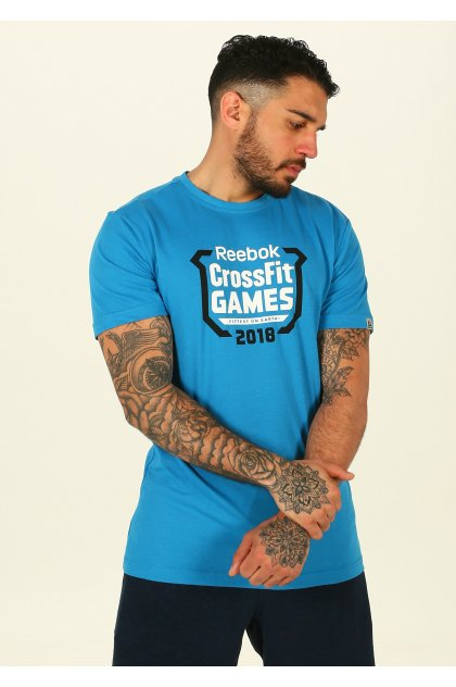 Reebok Camiseta manga corta Crossfit Games Crest