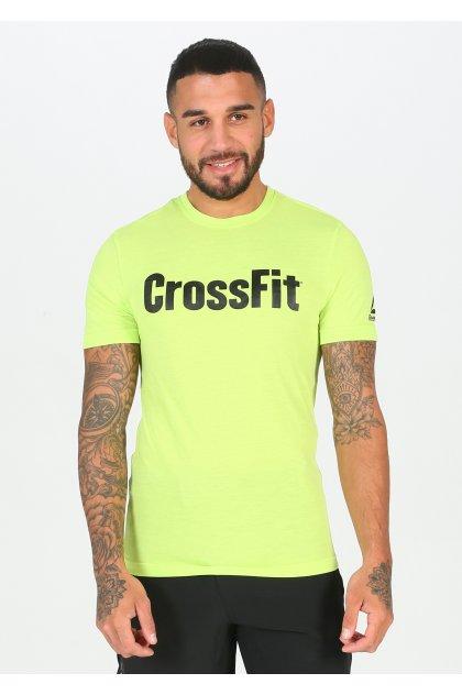 Reebok Camiseta manga corta Crossfit Speedwick FEF