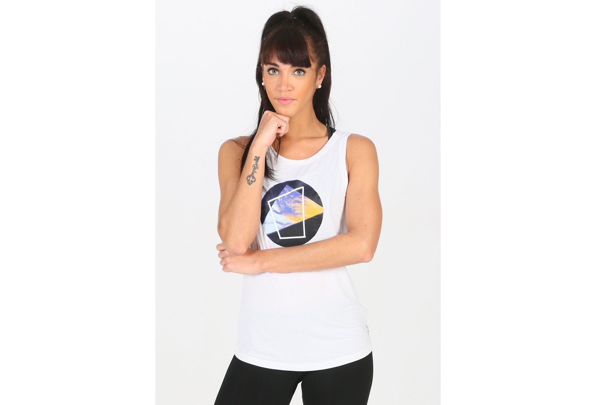 Reebok Graphic W Diététique Vêtements femme