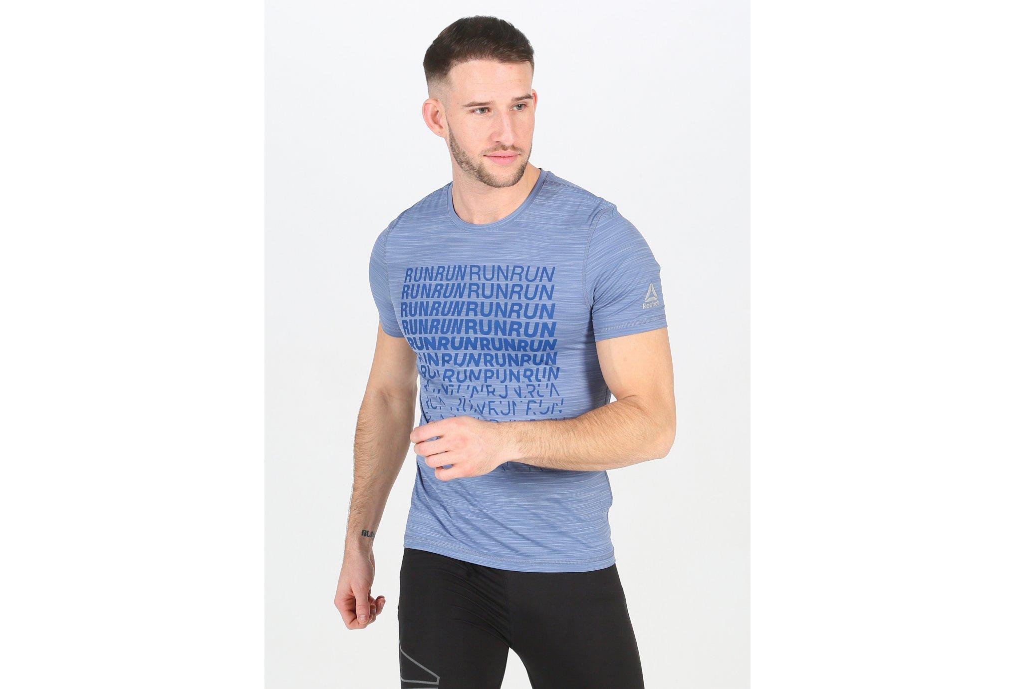 Reebok Running Activchill Graphic M Diététique Vêtements homme