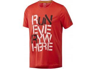 Reebok Camiseta manga corta Running