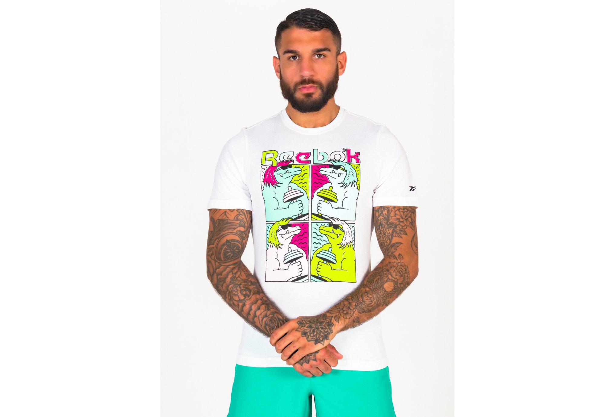 Reebok Running Novelty Graphic M vêtement running homme