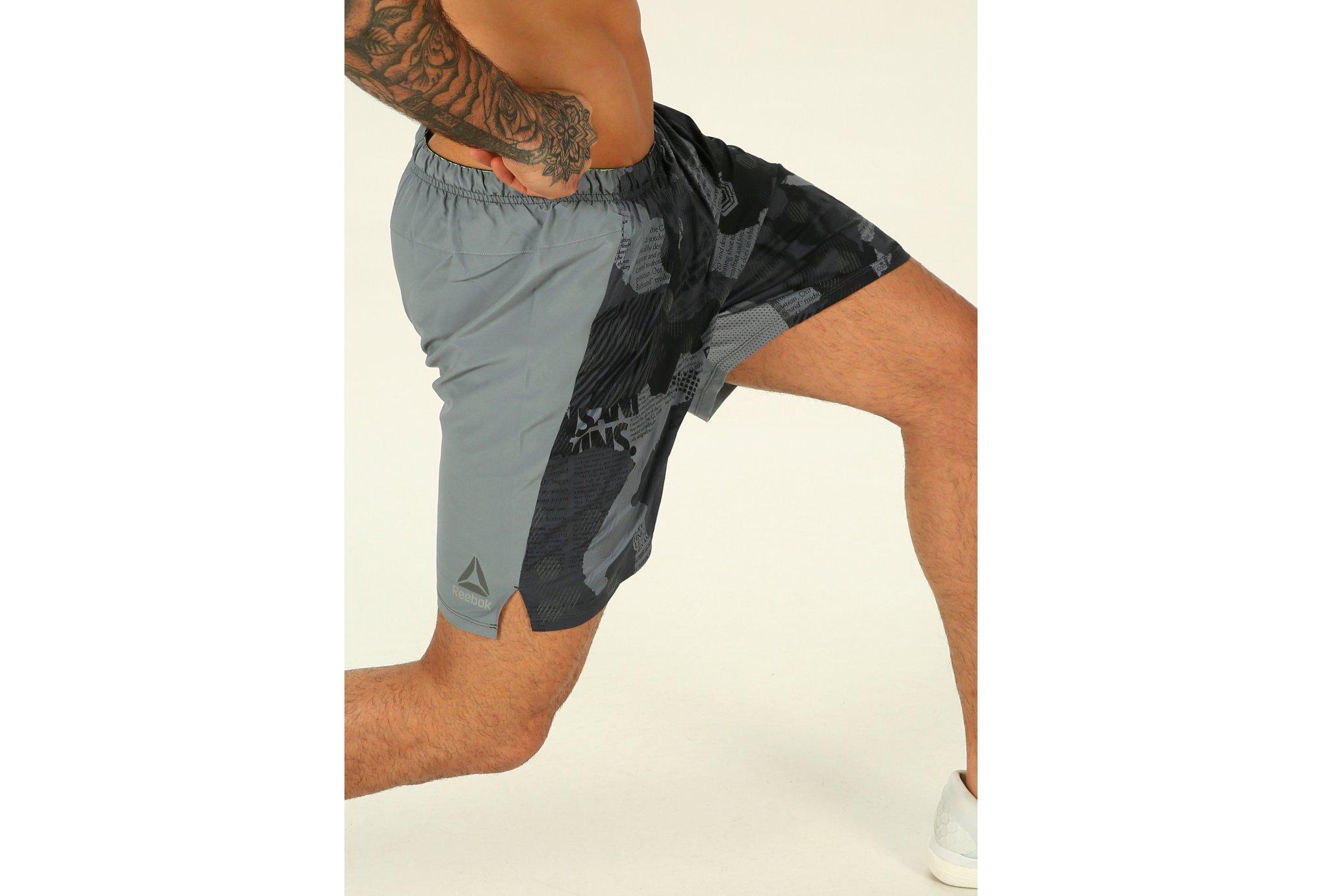 Reebok Running Print M Diététique Vêtements homme