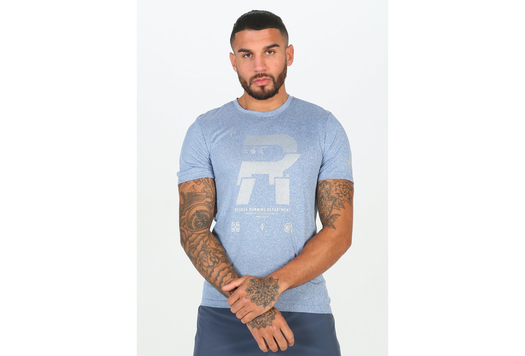 Reebok Running Reflective M Diététique Vêtements homme