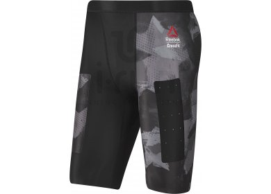 Reebok Short de Compression Crossfit Printed M pas cher - Vêtements ... f18497ab620f