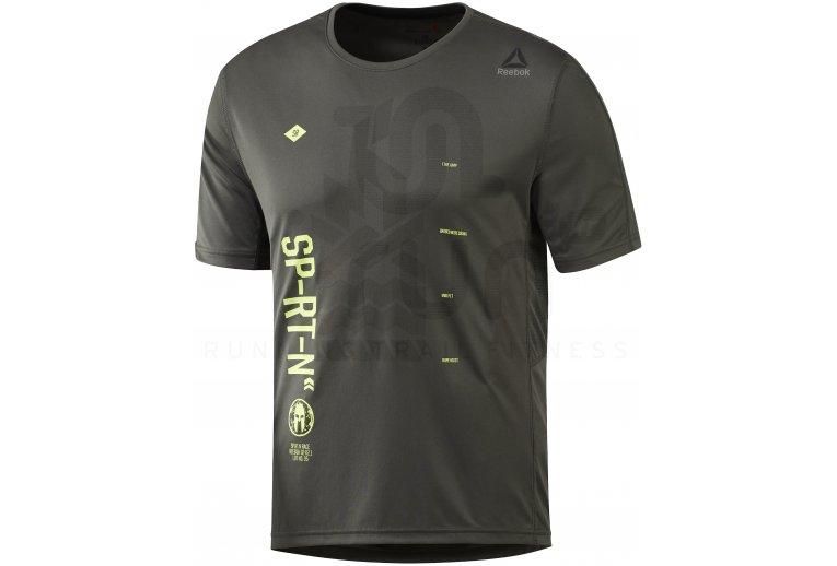887225e63 Reebok Camiseta manga corta Spartan Race Tech en promoción