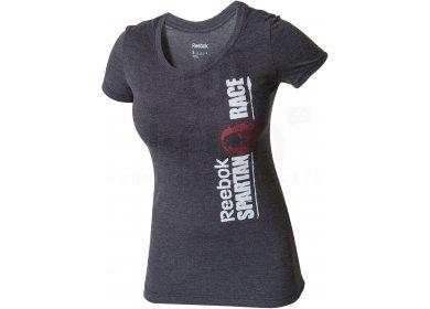 finest selection 2b2d3 fb083 Reebok Tee-shirt Spartan Race Touch W