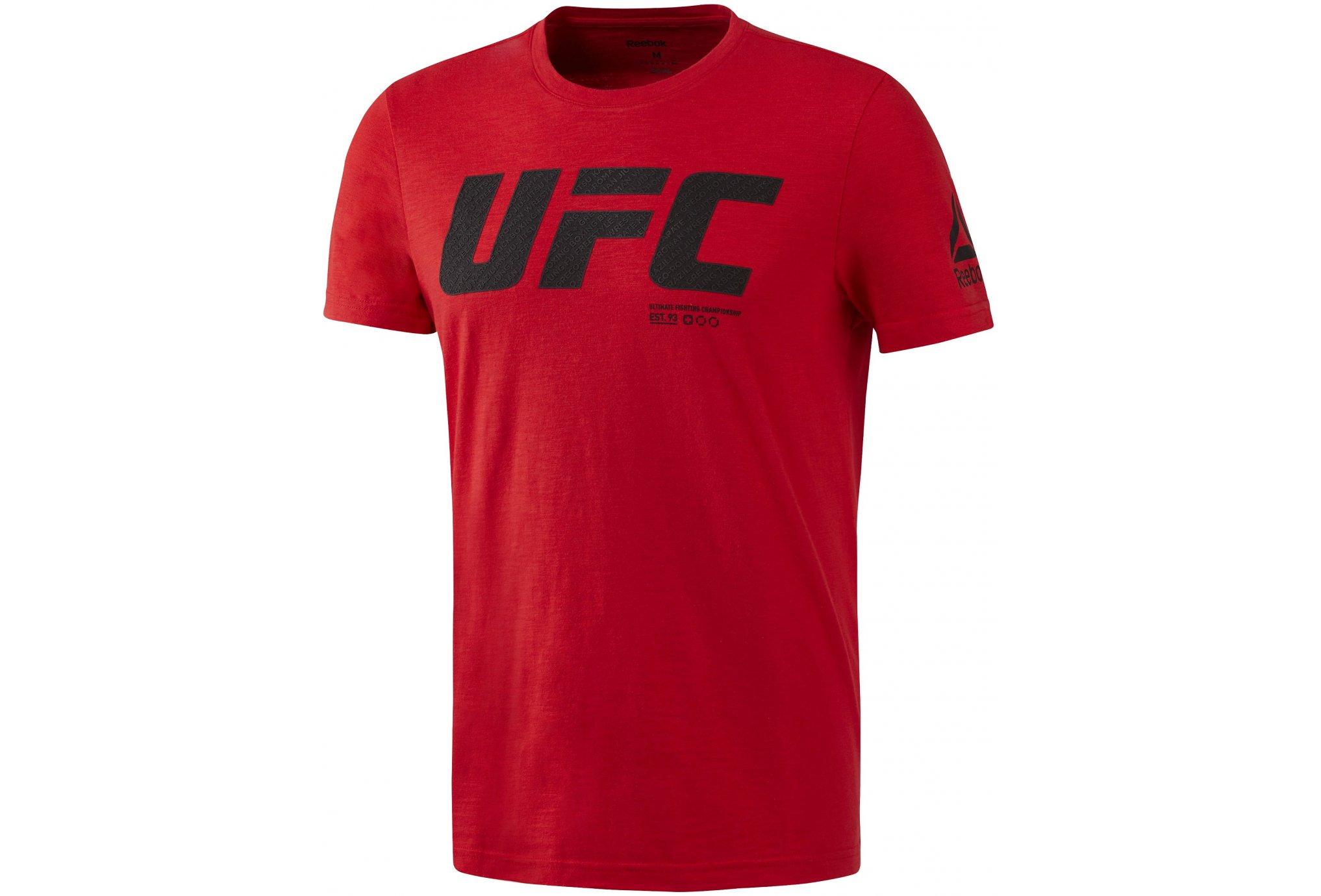 Reebok UFC FG Logo M vêtement running homme