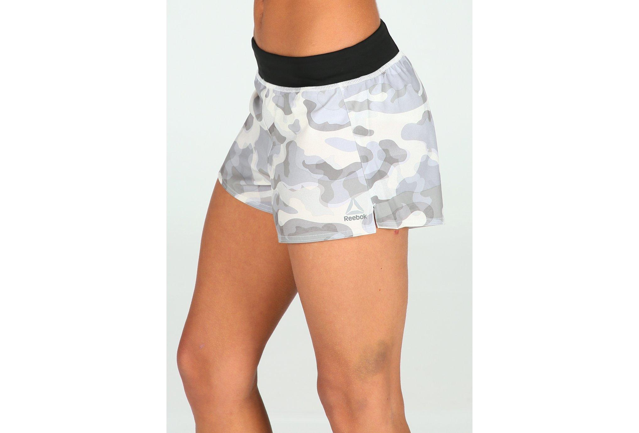 Reebok Woven Camouflage W Diététique Vêtements femme