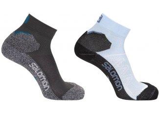 Salomon 2 pares calcetienes Speedcross Ankle