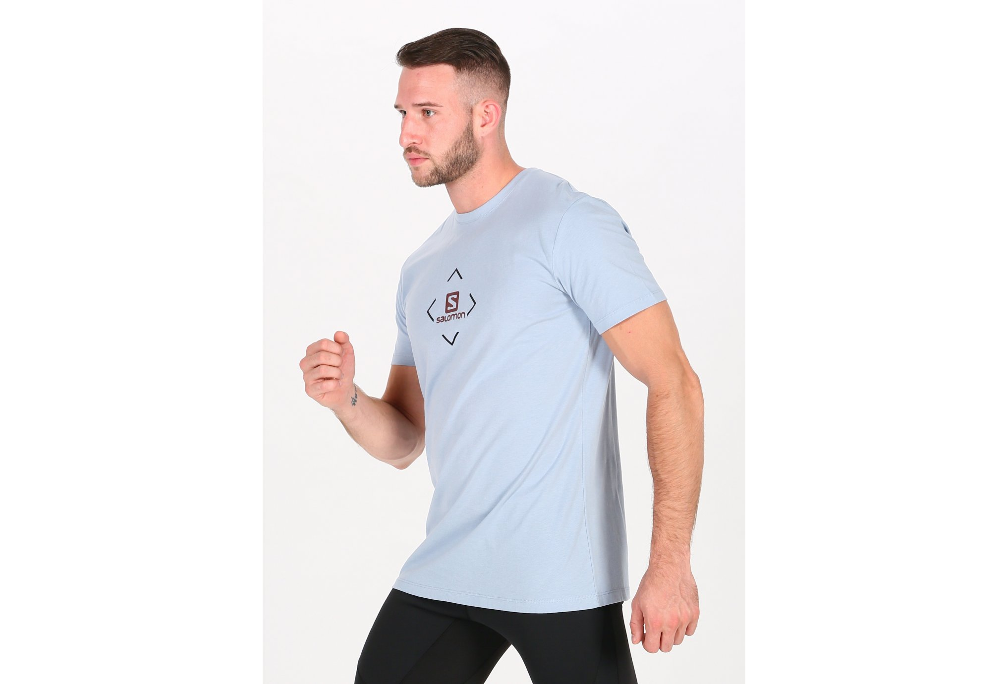 Salomon Coton Logo M vêtement running homme