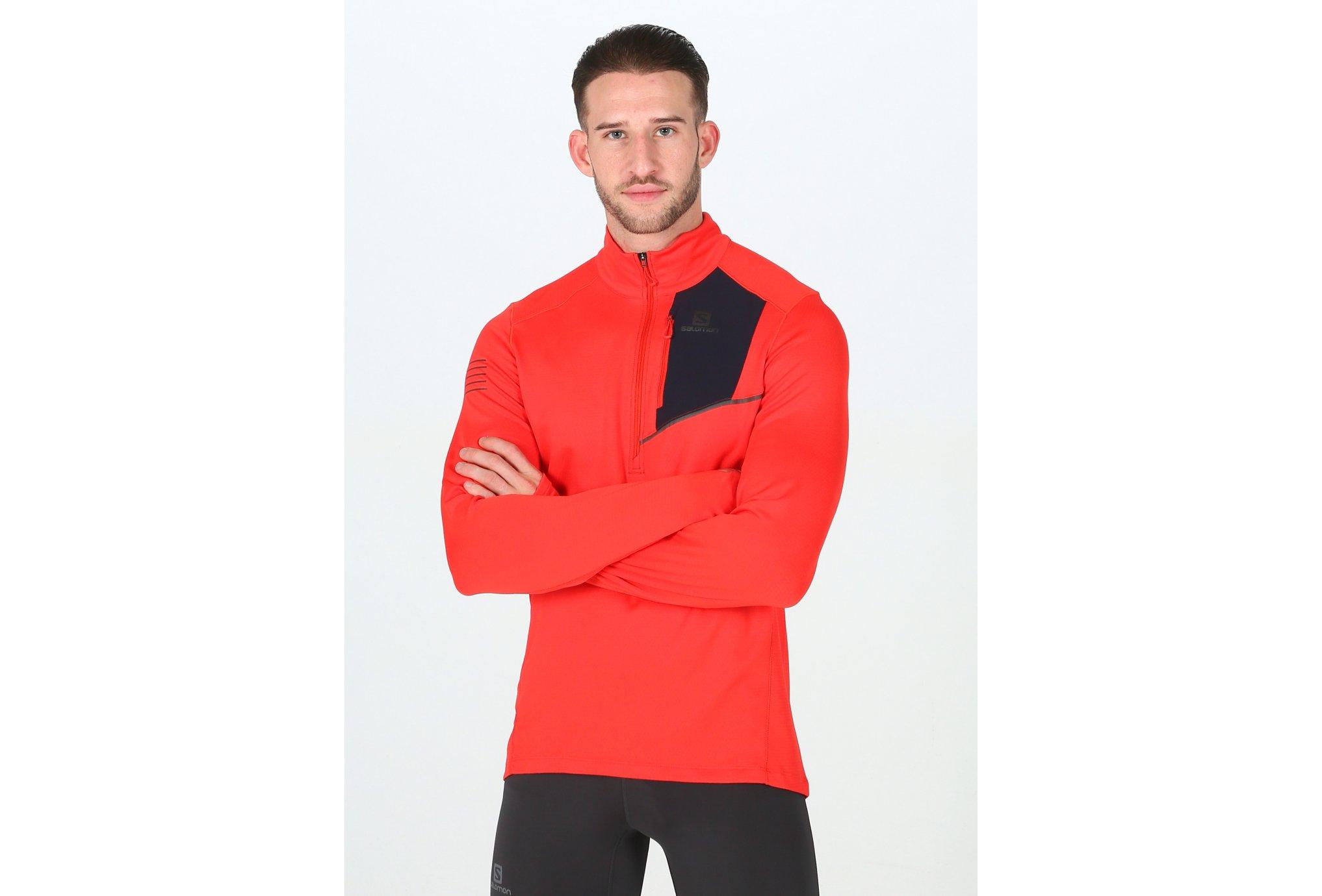 Salomon Fast Wing Mid M Diététique Vêtements homme