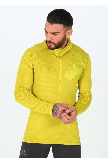 Salomon camiseta manga larga Grid HZ Mid Hoodie