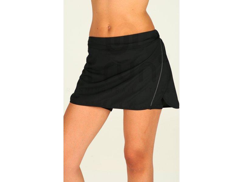 d3ae8a7895c35 Salomon Jupe Agile W pas cher - Vêtements femme running Shorts   cuissards    jupes en promo