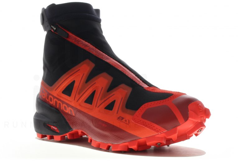 calzado pronador salomon rojo