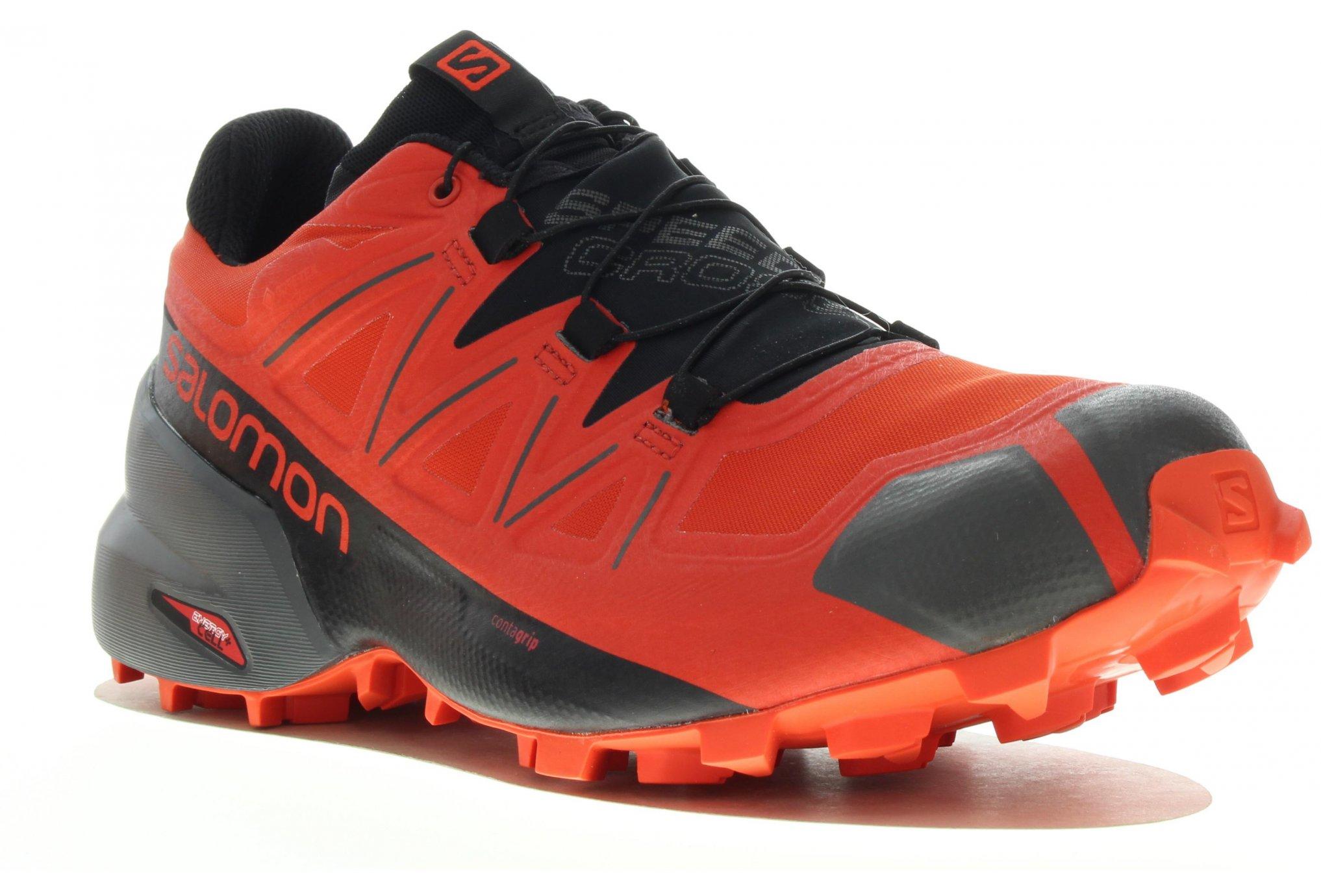 Tex Chaussures Salomon Gore Speedcross 5 M HommeréfL40796500 08wnPkO
