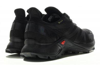 Chaussures Salomon Supercross GORE TEX noir   Deporvillage