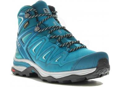 Chaussure de randonnée Salomon Goretex femme | Rakuten