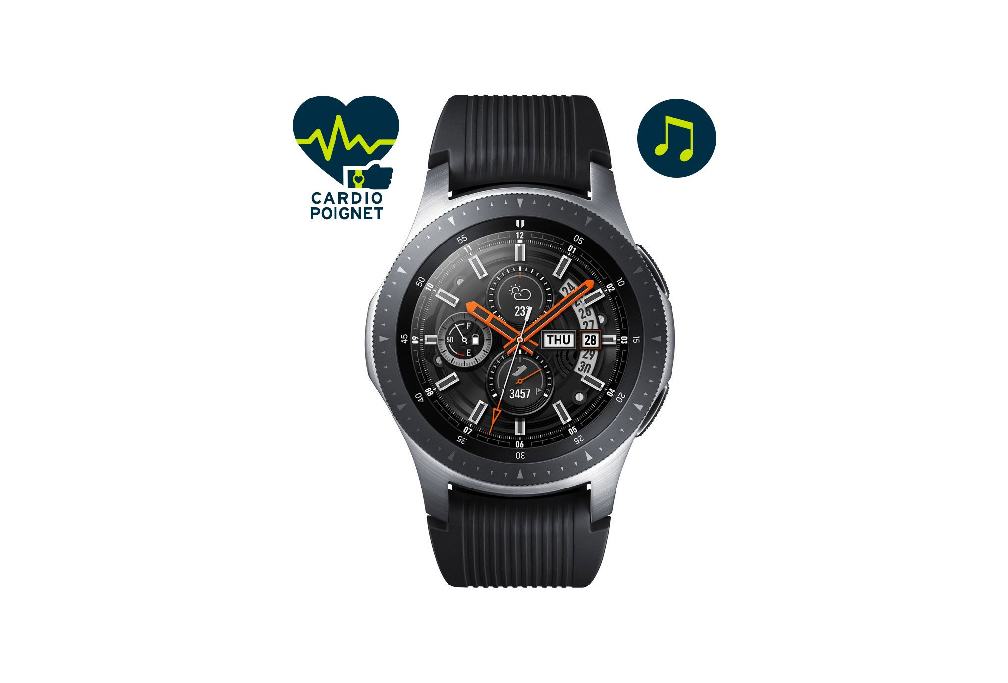 Samsung Galaxy watch 46 mm cardio-Gps