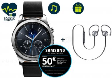 Samsung Pack Gear S3 Classic + Casque Level Active Offert