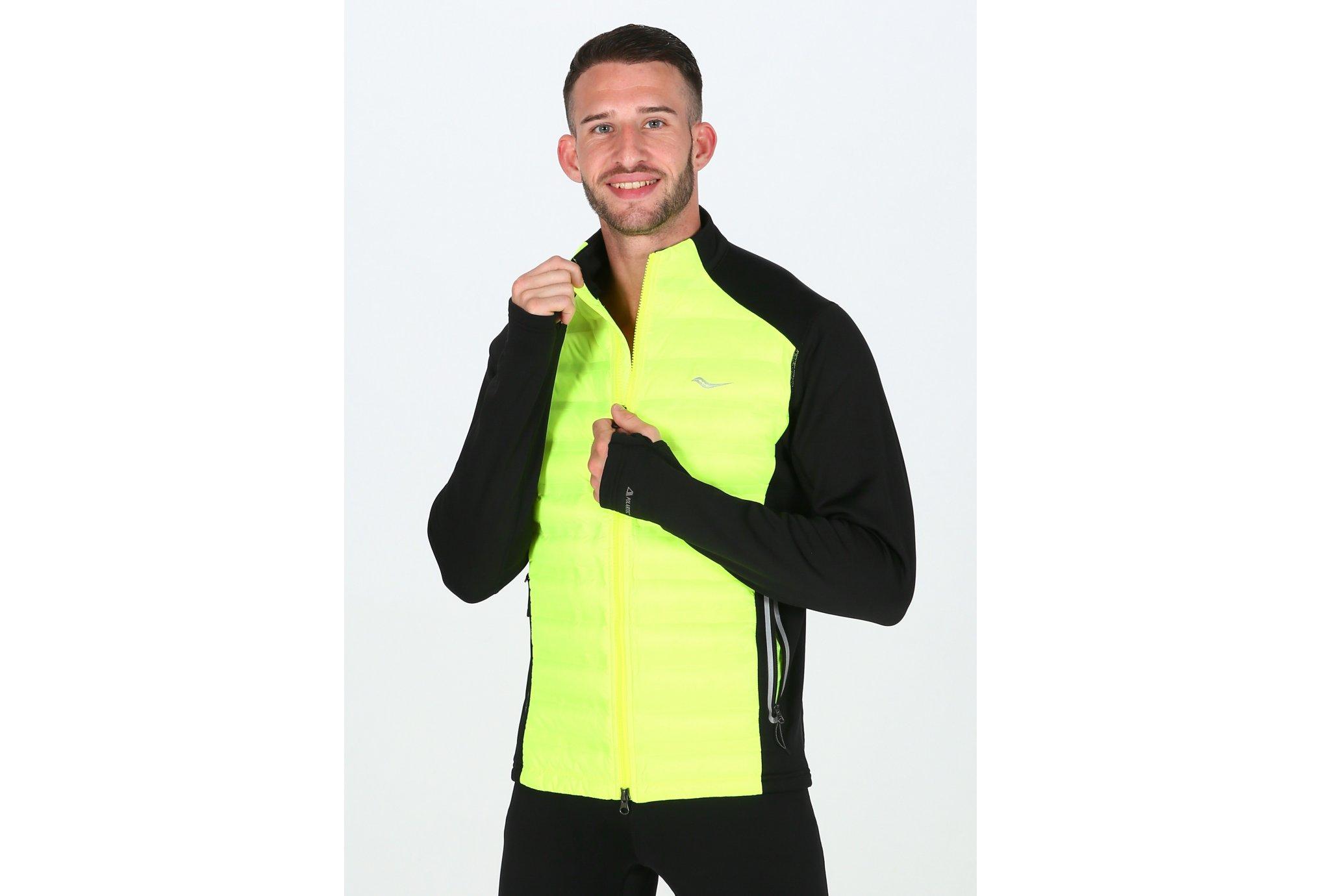 Saucony Bonded Baffle Hybrid M vêtement running homme