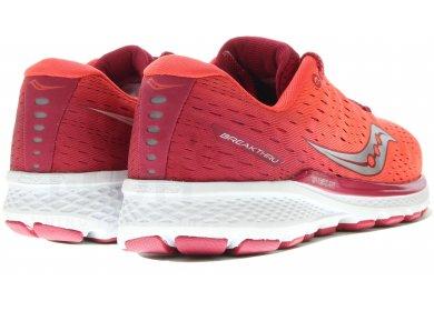 Saucony Breakthru 3 Femme Chaussures Running Rouge