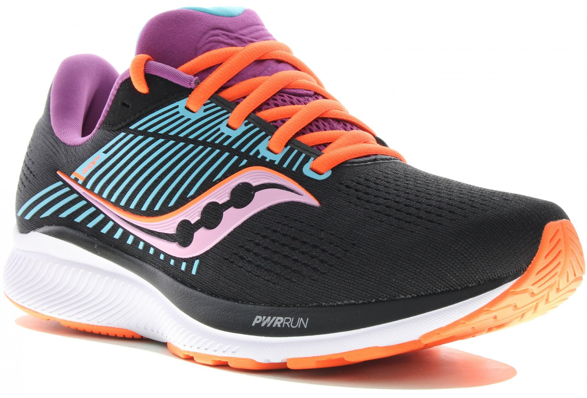 Saucony Guide 14 Bright Future Black W Chaussures running femme