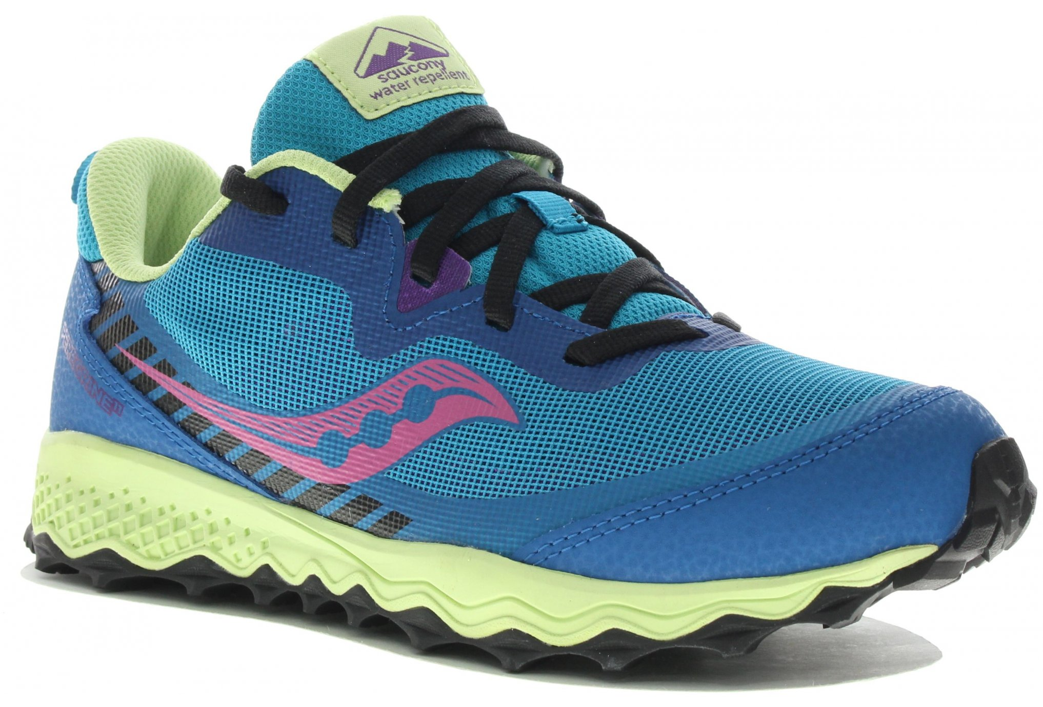 Saucony Peregrine 11 Shield Fille Chaussures running femme
