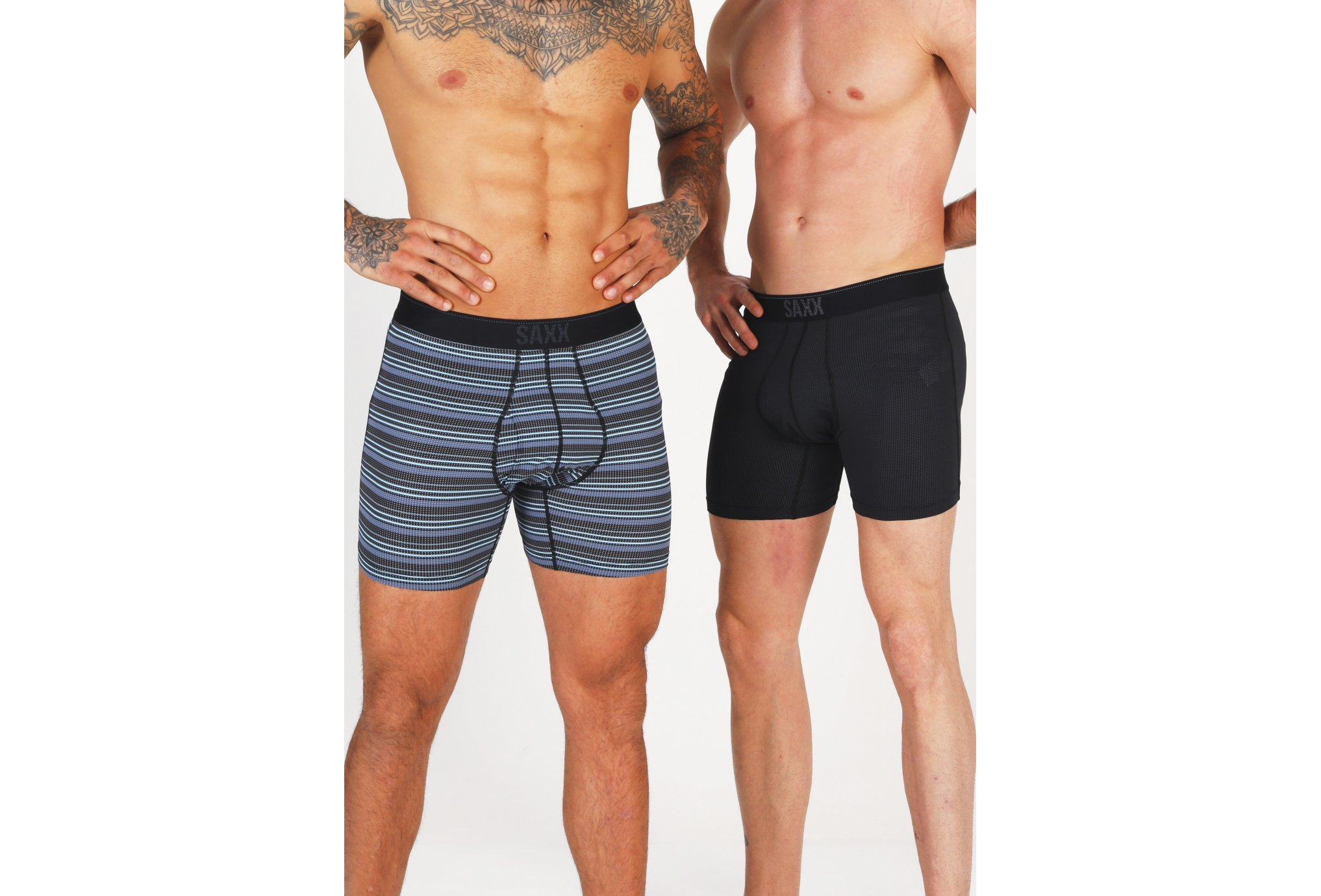 Saxx Lot de 2 boxers Quest M vêtement running homme