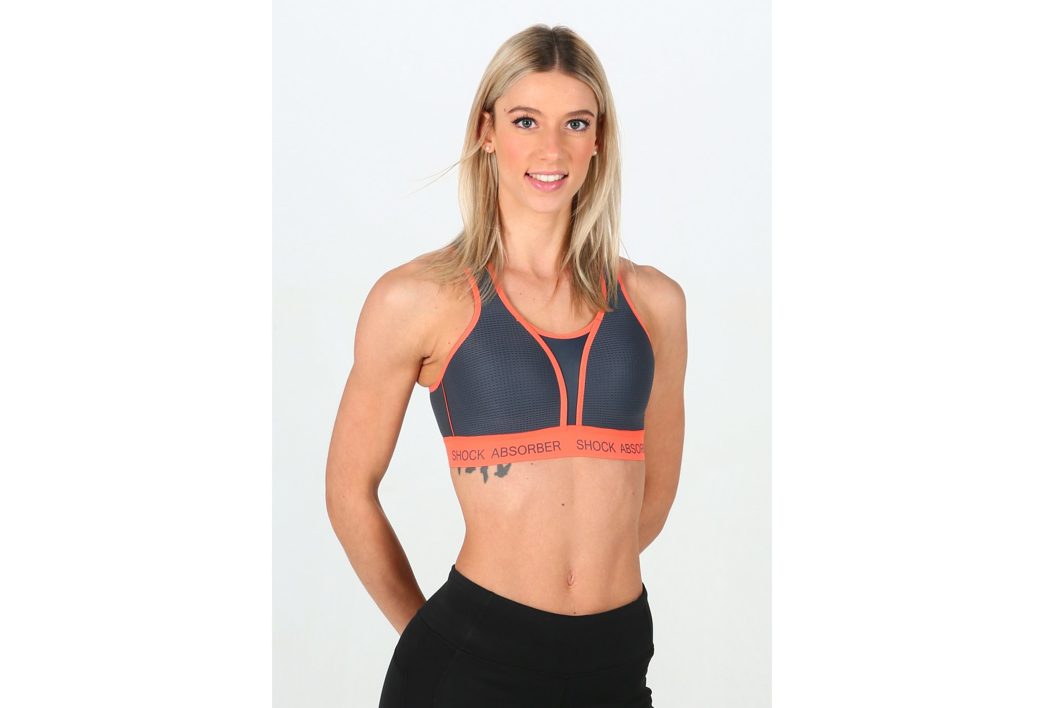 Shock Absorber Run Bra Padded vêtement running femme