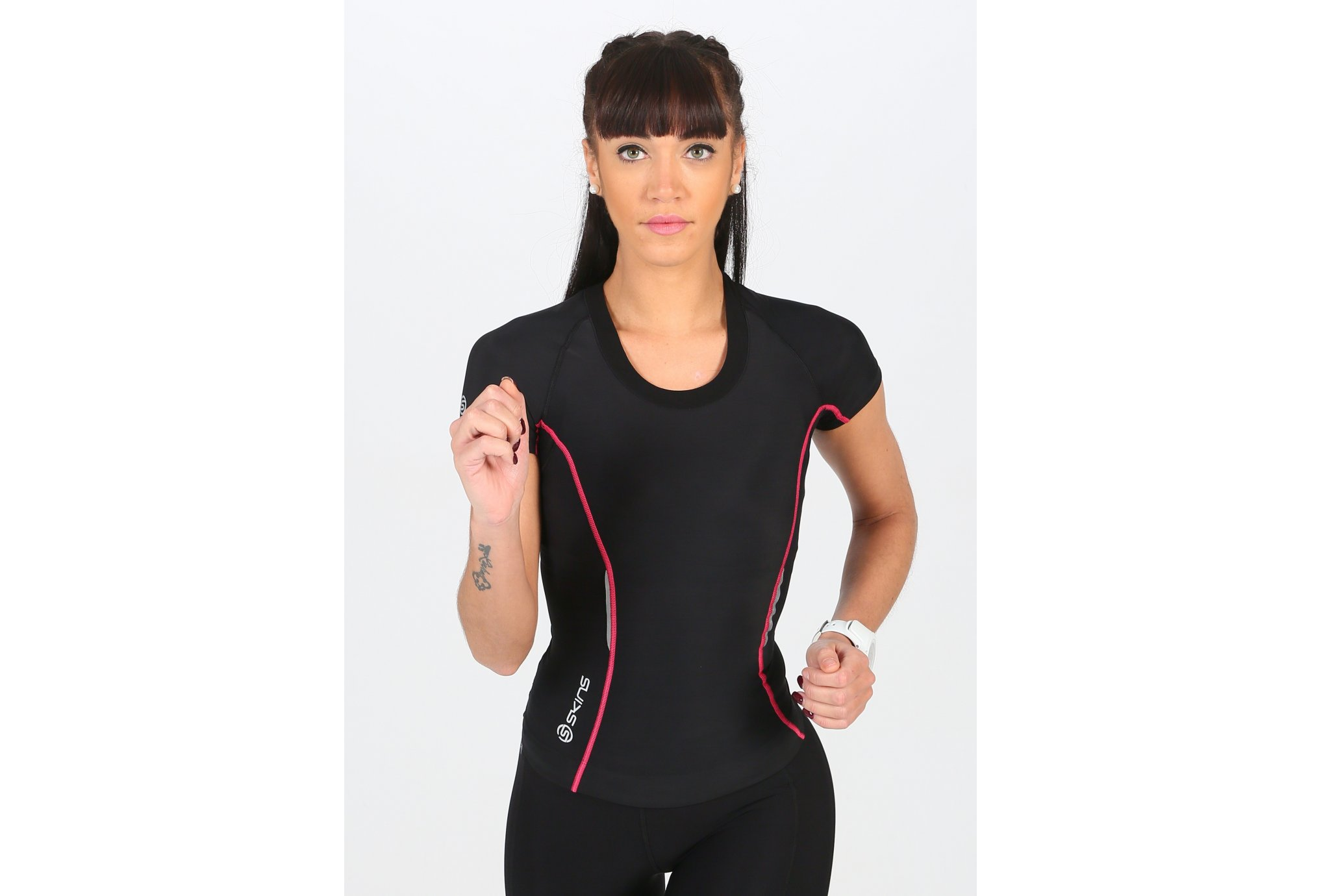 Skins A200 Top SS W Diététique Vêtements femme