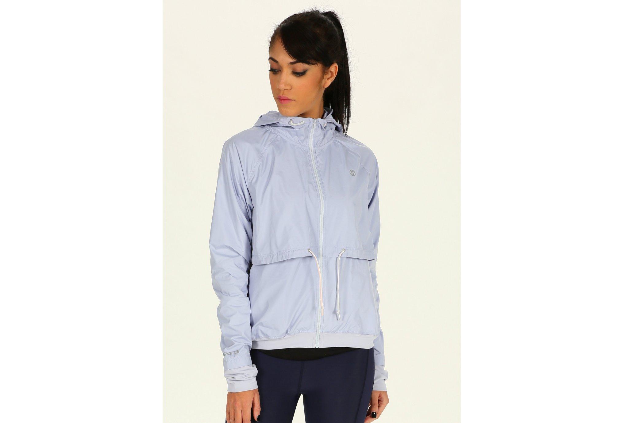 Skins Distort Packable Lightweight W vêtement running femme