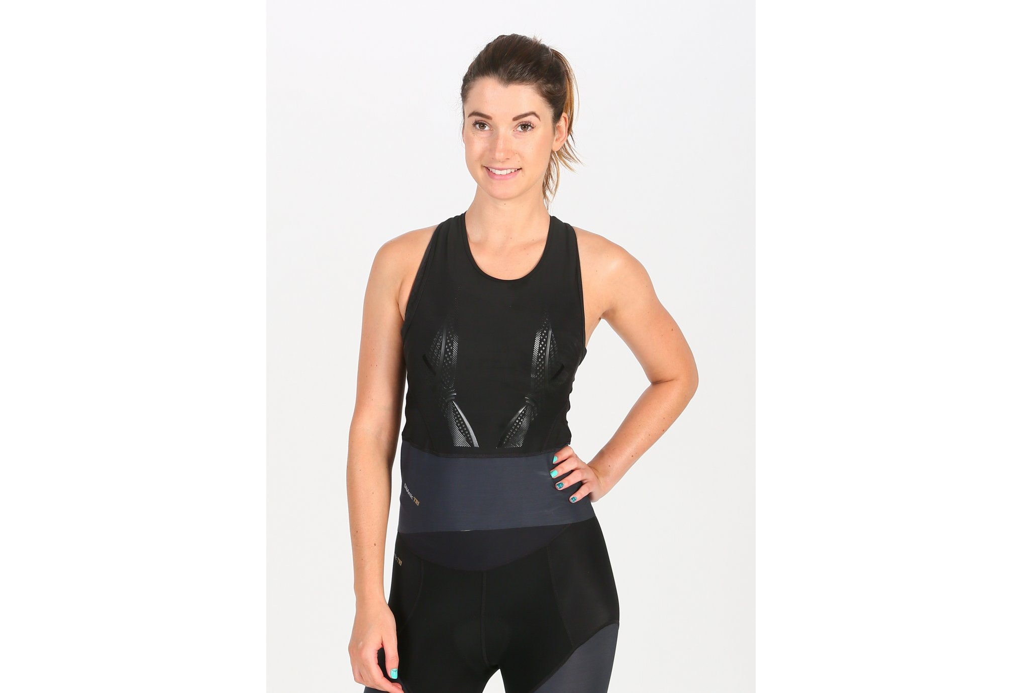 Skins DNAmic Top Triathlon W vêtement running femme