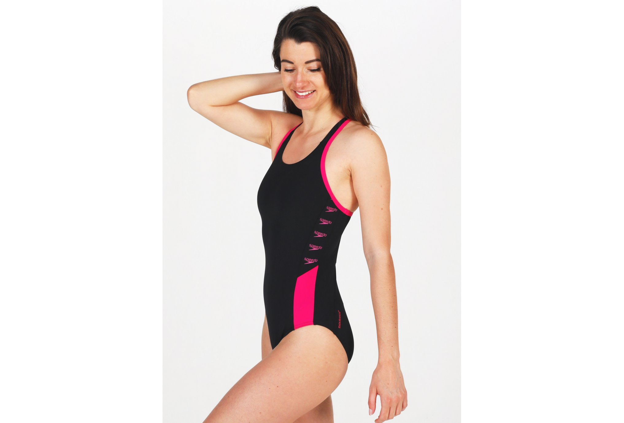 Speedo Boom Logo Splice Muscleback W vêtement running femme