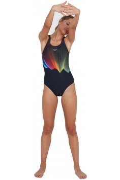 Speedo ColourGlow Placement Digital Printed W