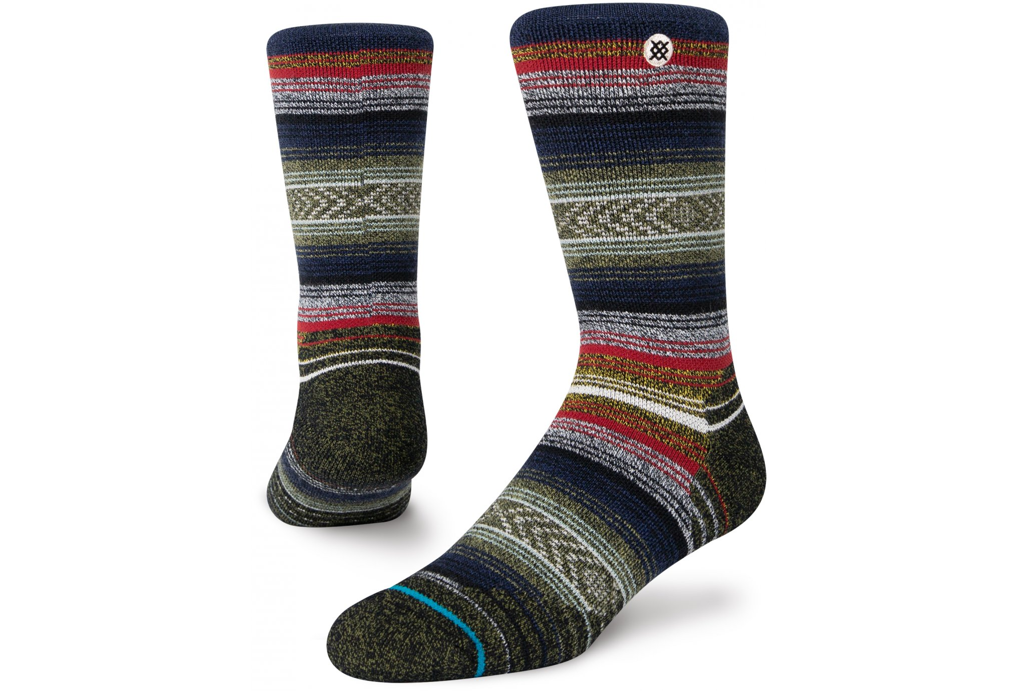 Stance Adventure Windy Peak Crew Chaussettes