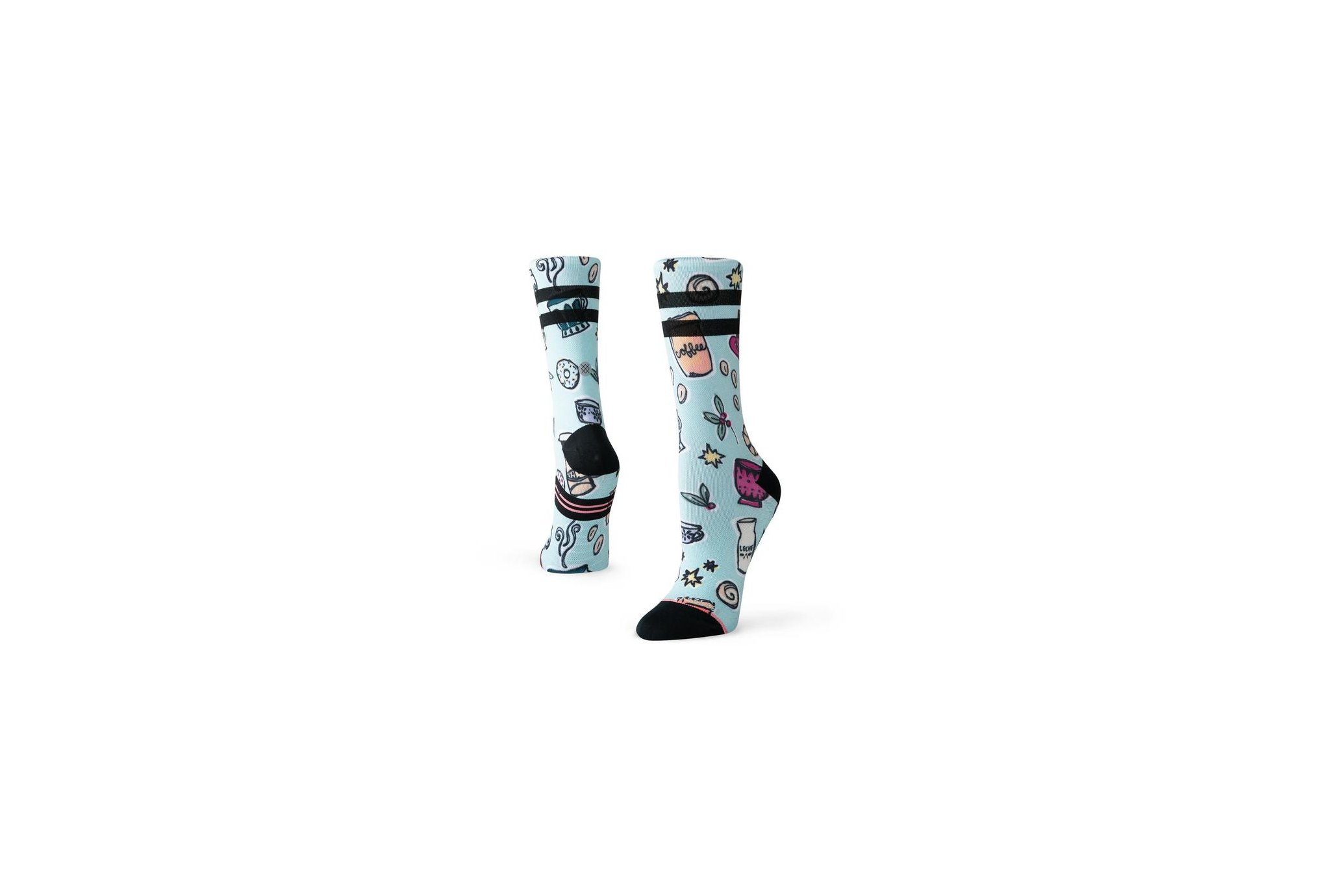 Stance Run Barista Light Crew W Chaussettes