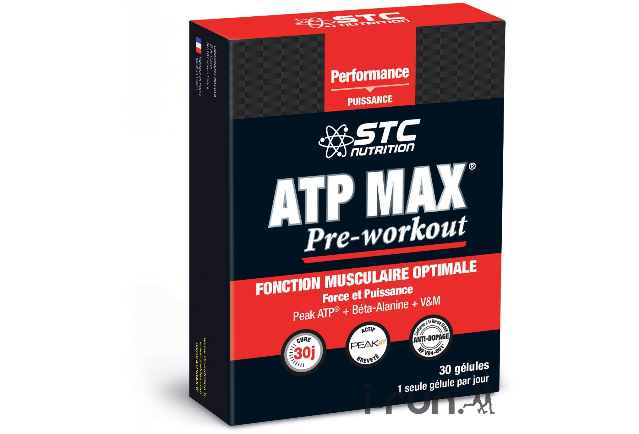 STC Nutrition ATP MAX Pre-Workout Diététique Compléments