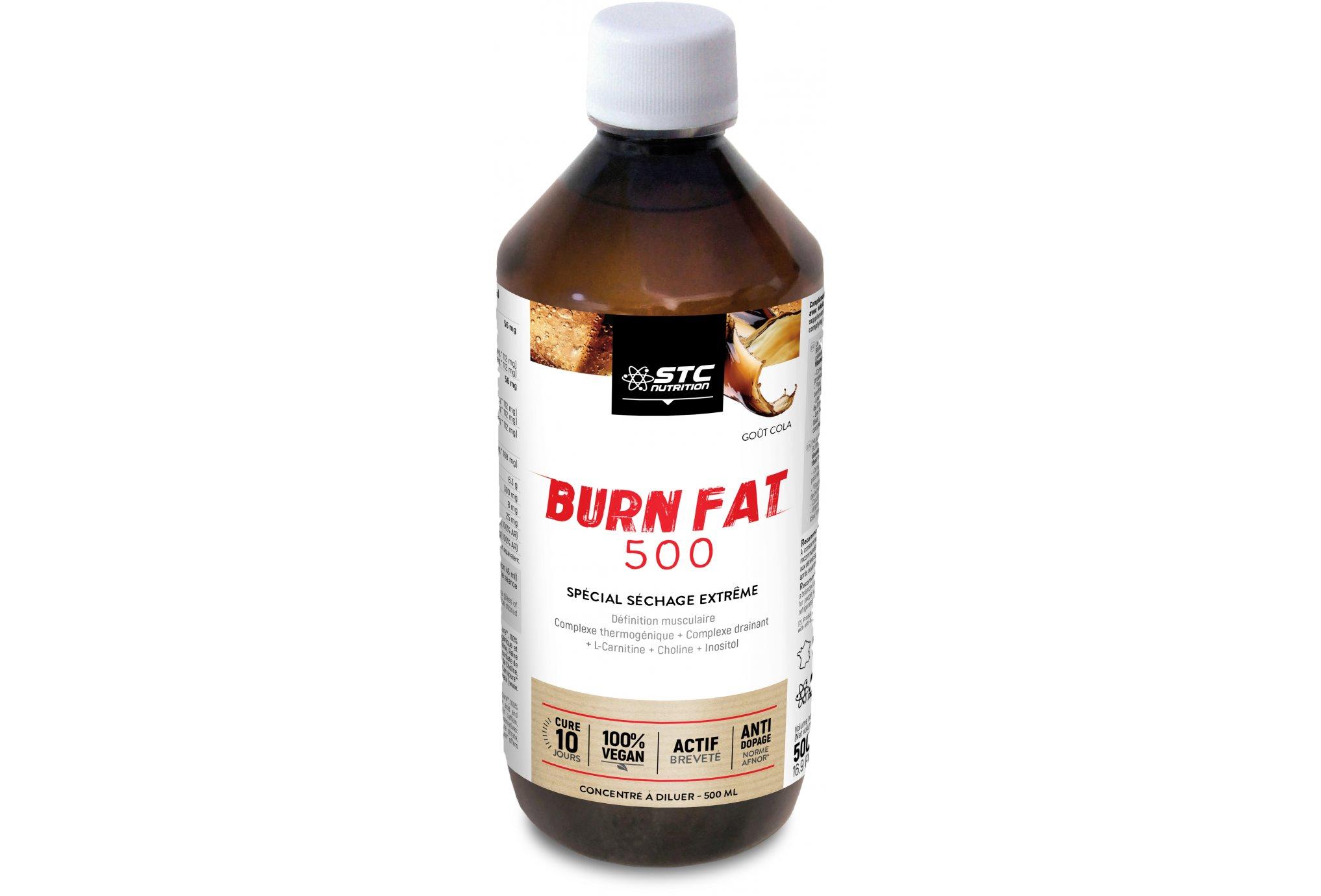 STC Nutrition Burn-Fat 500 - Cola Diététique Protéines / récupération