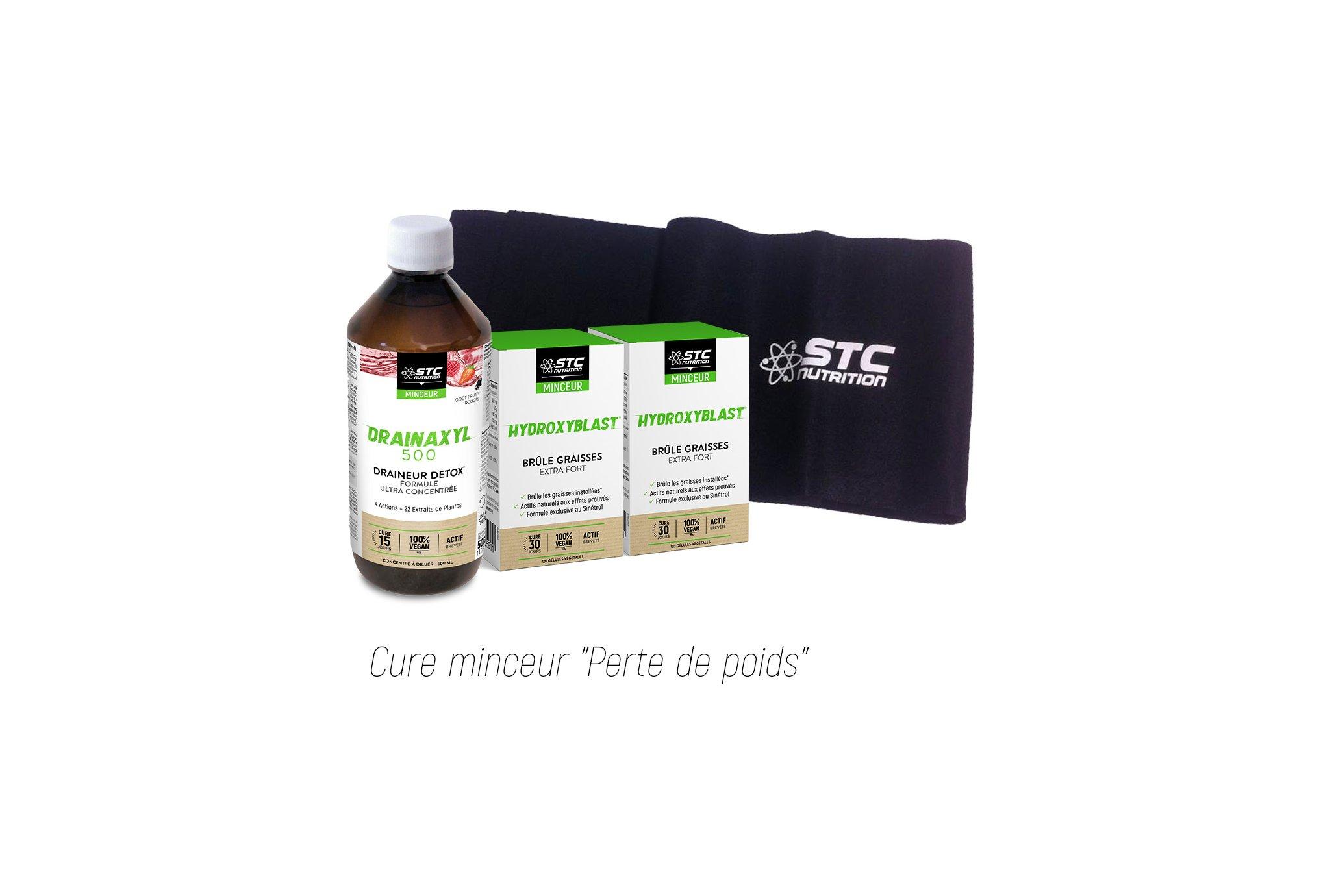 STC Nutrition Cure minceur et ceinture de sudation offerte Diététique Packs